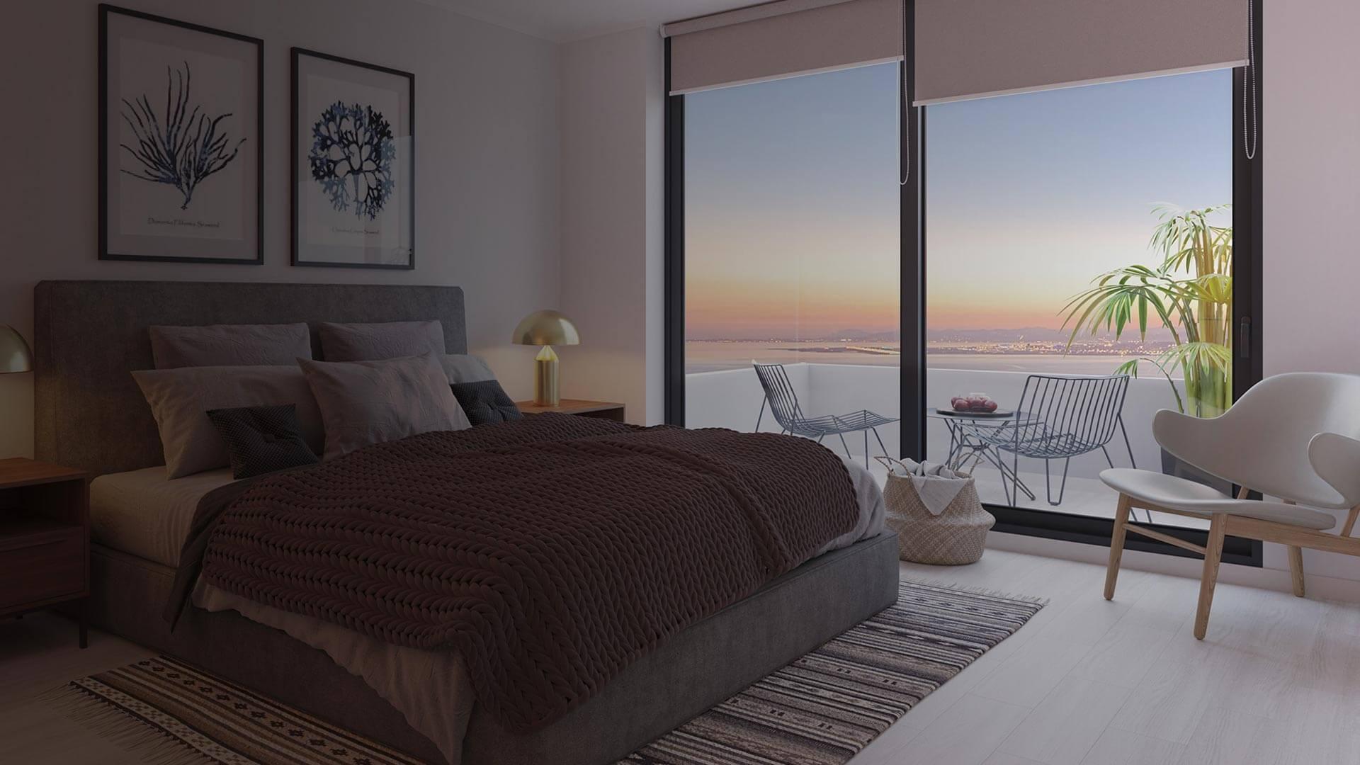 Eco Costas - Dormitorio Principal