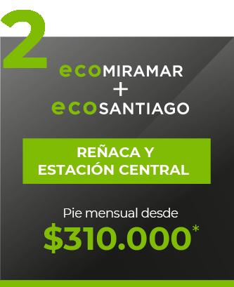 Eco Miramar + Eco Santiago